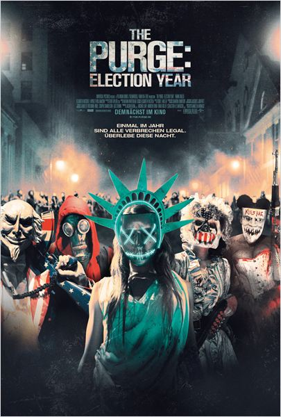 The Purge 3 Election Year Film ansehen Online