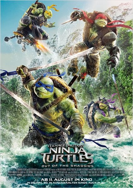 Teenage Mutant Ninja Turtles 2: Out Of The Shadows Film ansehen Online