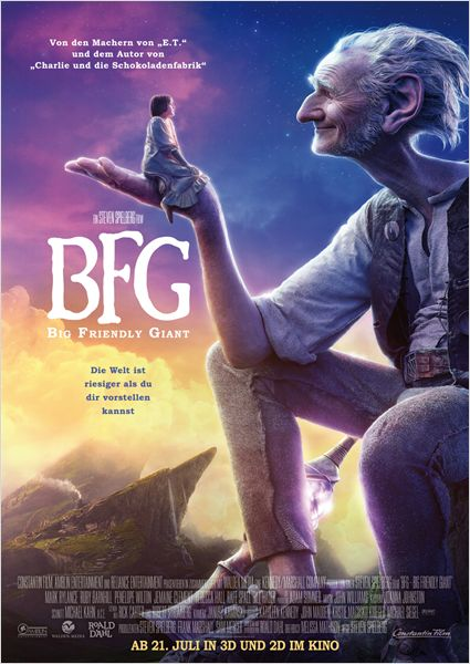 BFG - Big Friendly Giant Film anschauen Online