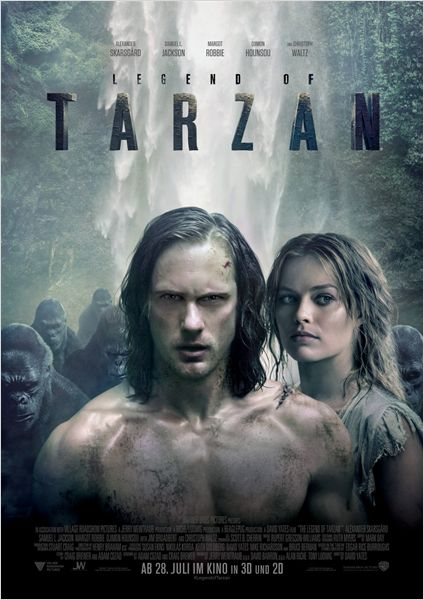 Legend Of Tarzan Film anschauen Online