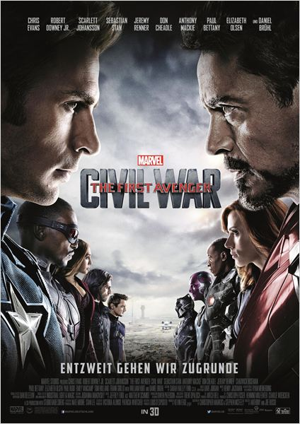 The First Avenger: Civil War Film anschauen Online