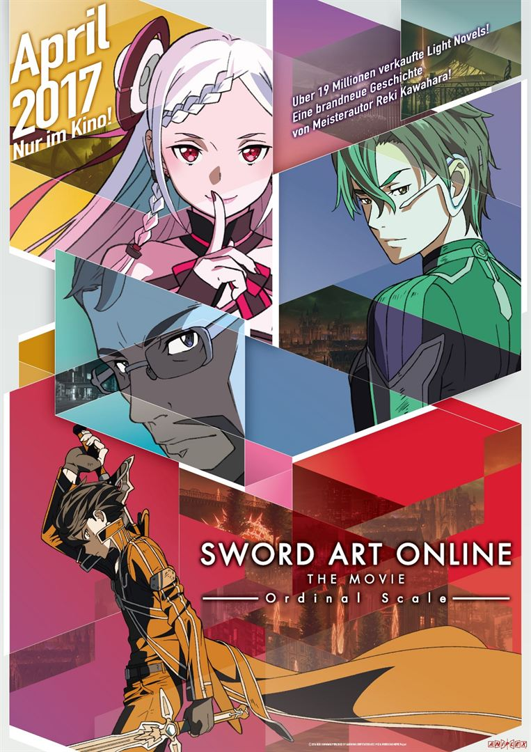 Sword Art Online - Ordinal Scale Film anschauen Online