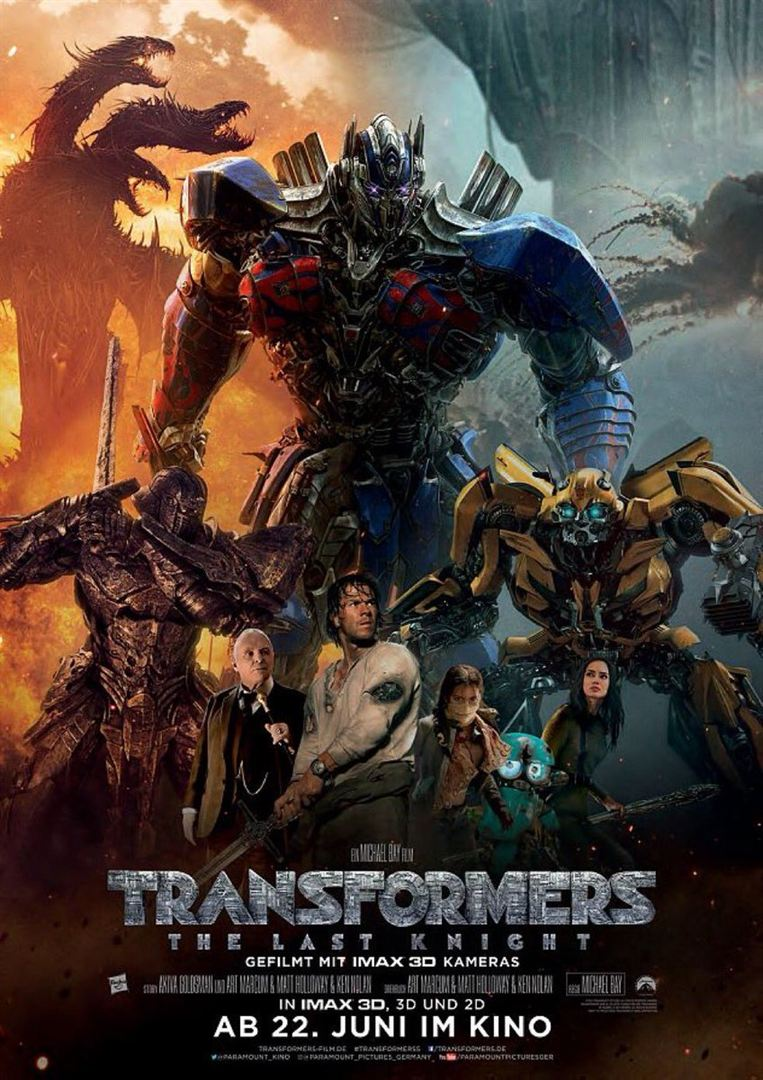 Transformers 5 The Last Knight Film ansehen Online