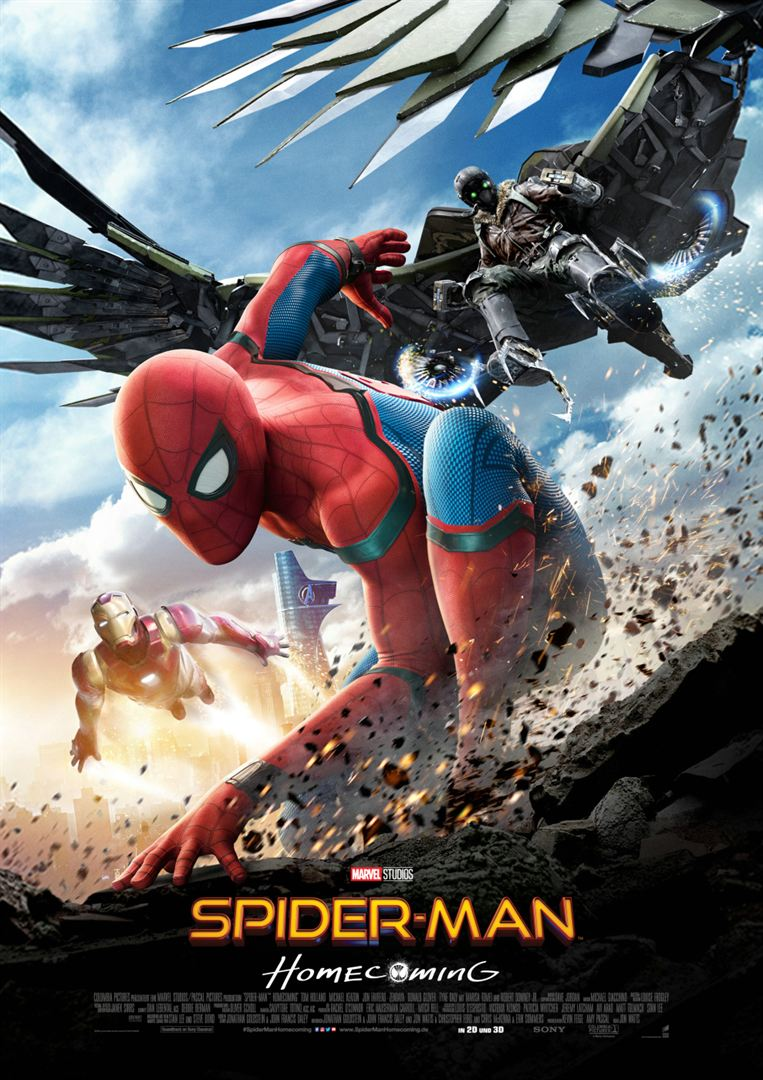 Spider-Man Homecoming Film anschauen Online