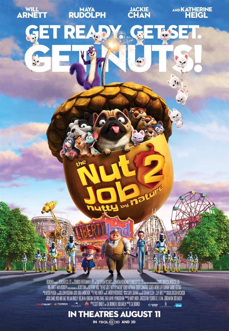 The Nut Job 2 Nutty by Nature Film anschauen Online