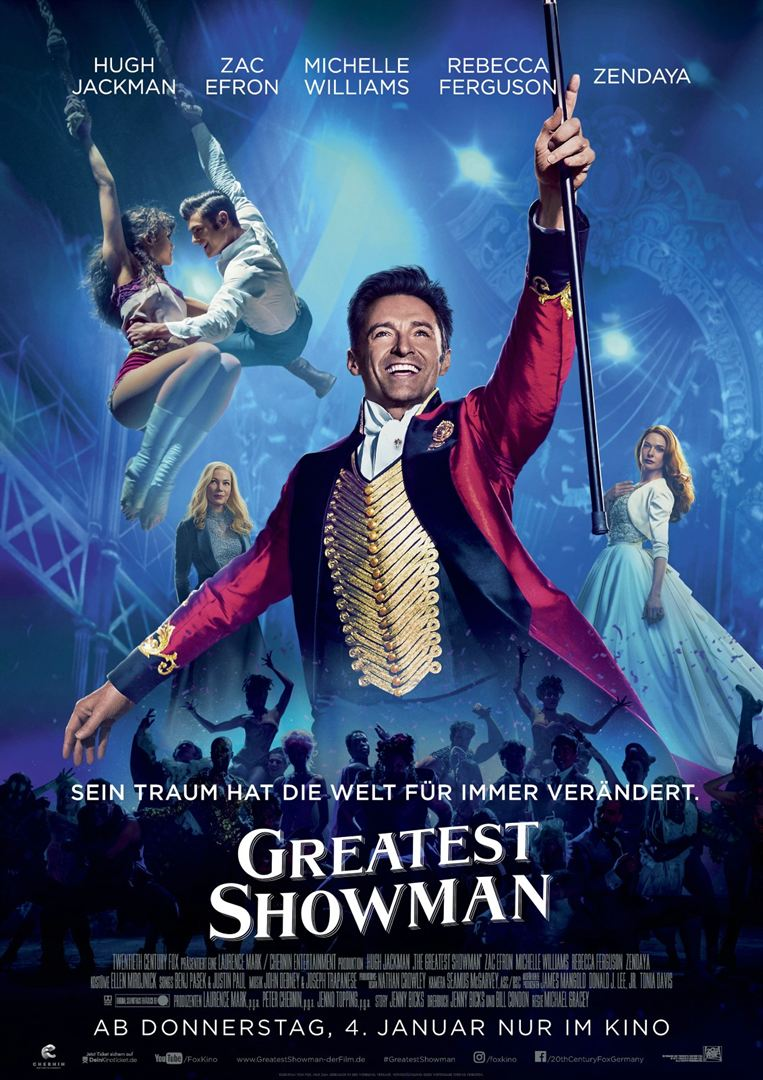 Greatest Showman Film anschauen Online