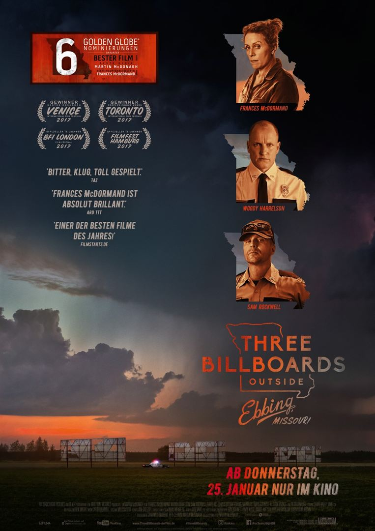 Three Billboards Outside Ebbing Missouri Film anschauen Online