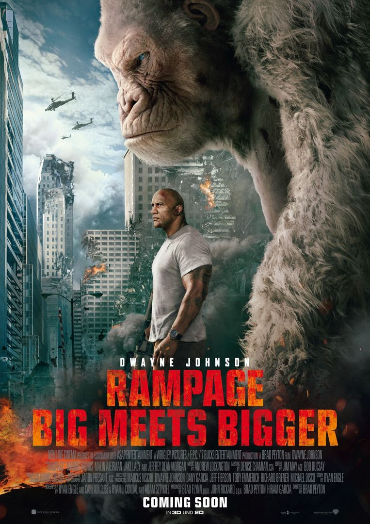 Rampage - Big Meets Bigger Film anschauen Online