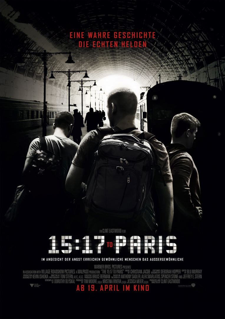 The 15:17 to Paris Film anschauen Online