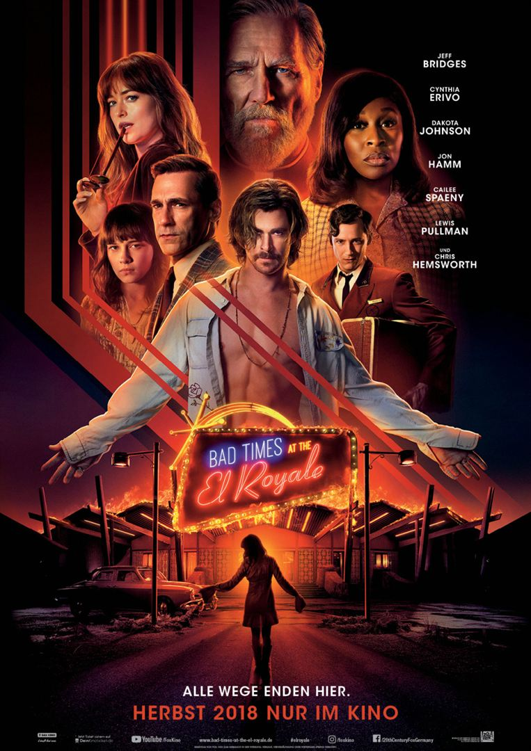 Bad Times At The El Royale Film anschauen Online