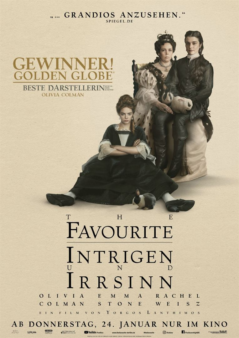 The Favourite - Intrigen und Irrsinn Film anschauen Online