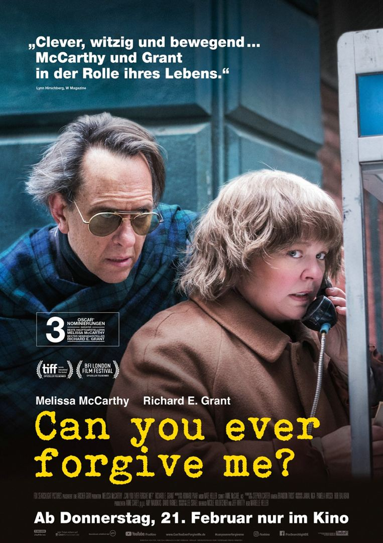 Can You Ever Forgive Me? Film anschauen Online