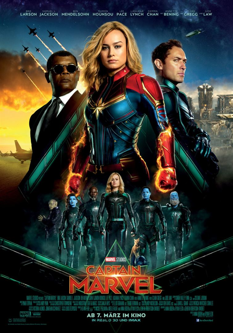 Captain Marvel Film anschauen Online