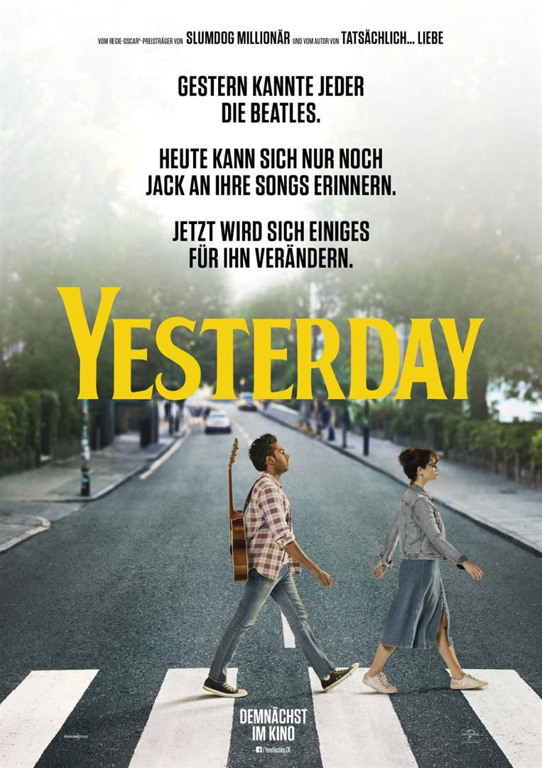 Yesterday Film anschauen Online