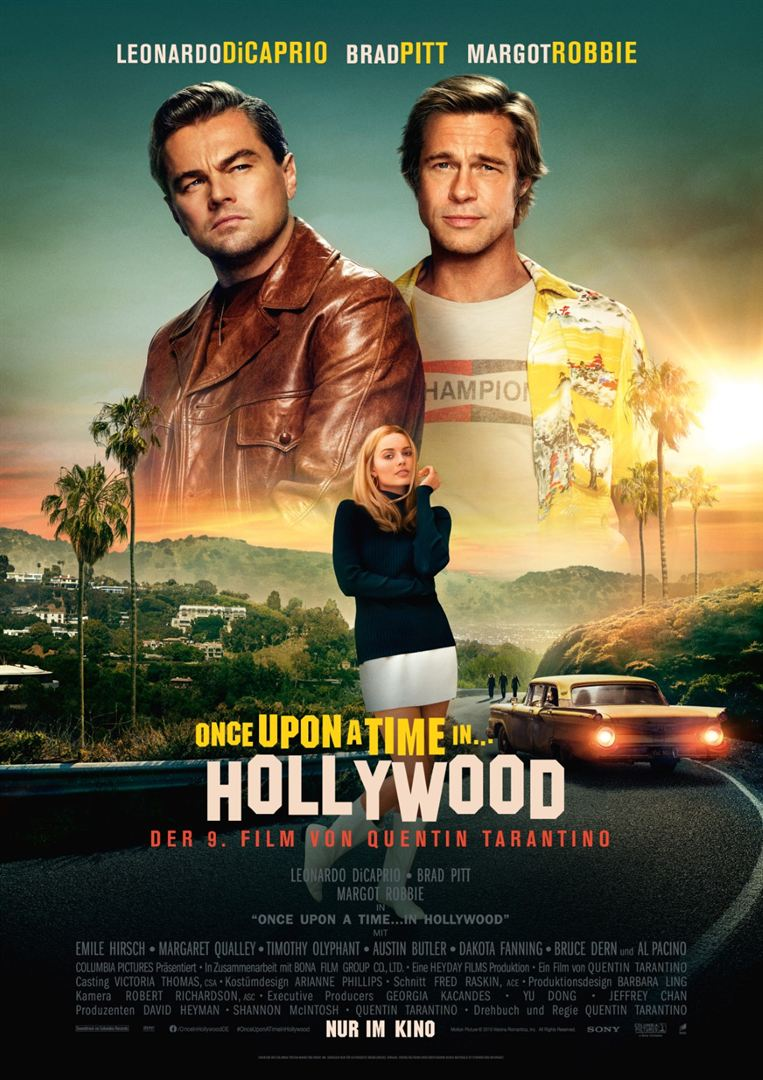 Once Upon A Time In... Hollywood Film anschauen Online