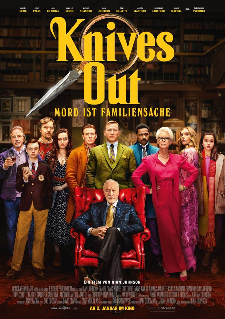 Knives Out Mord ist Familiensache Film ansehen Online