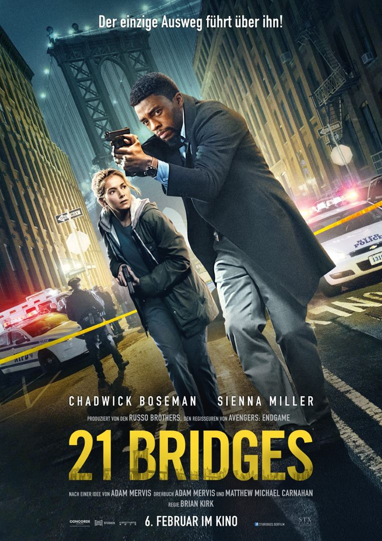 21 Bridges Film anschauen Online